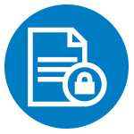 security icon for HGI's Document Management system